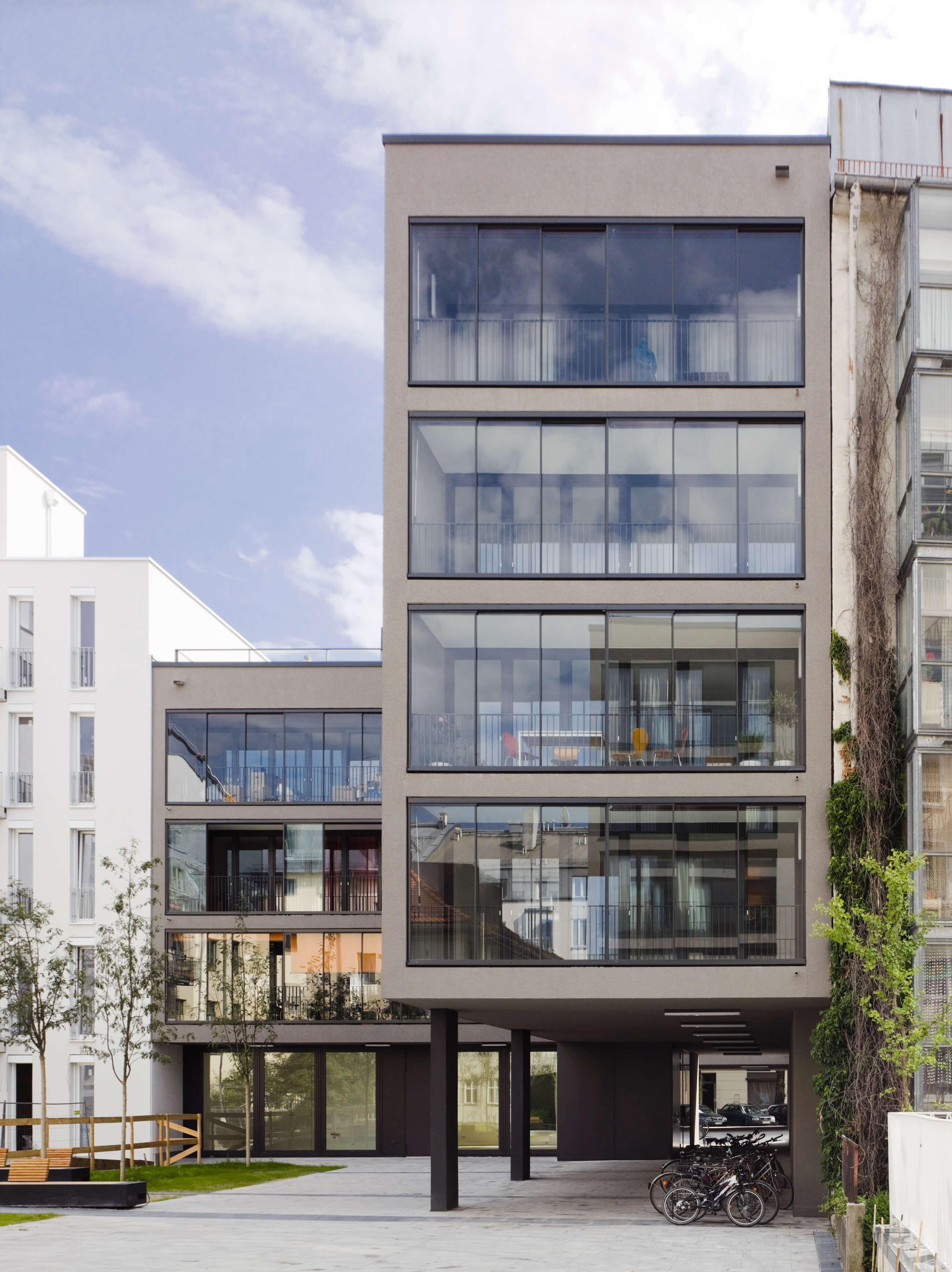 Wohnbebauung  Lothringerstraße, München