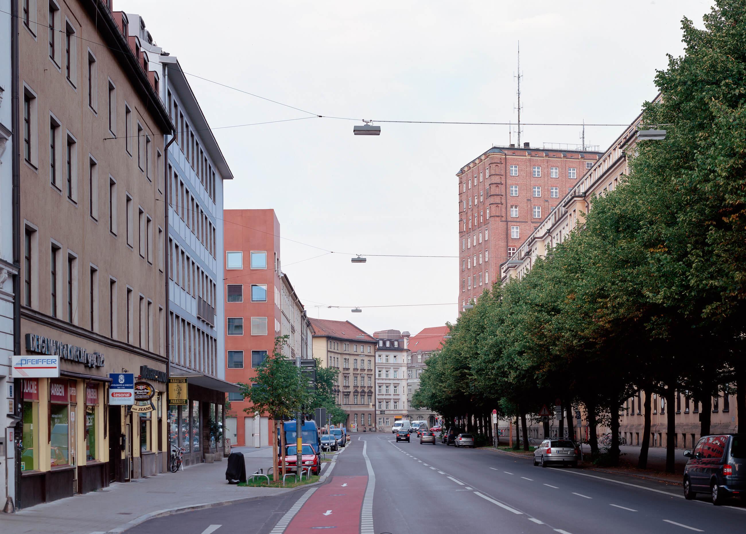 Kopfanbau Stadtwerke, München