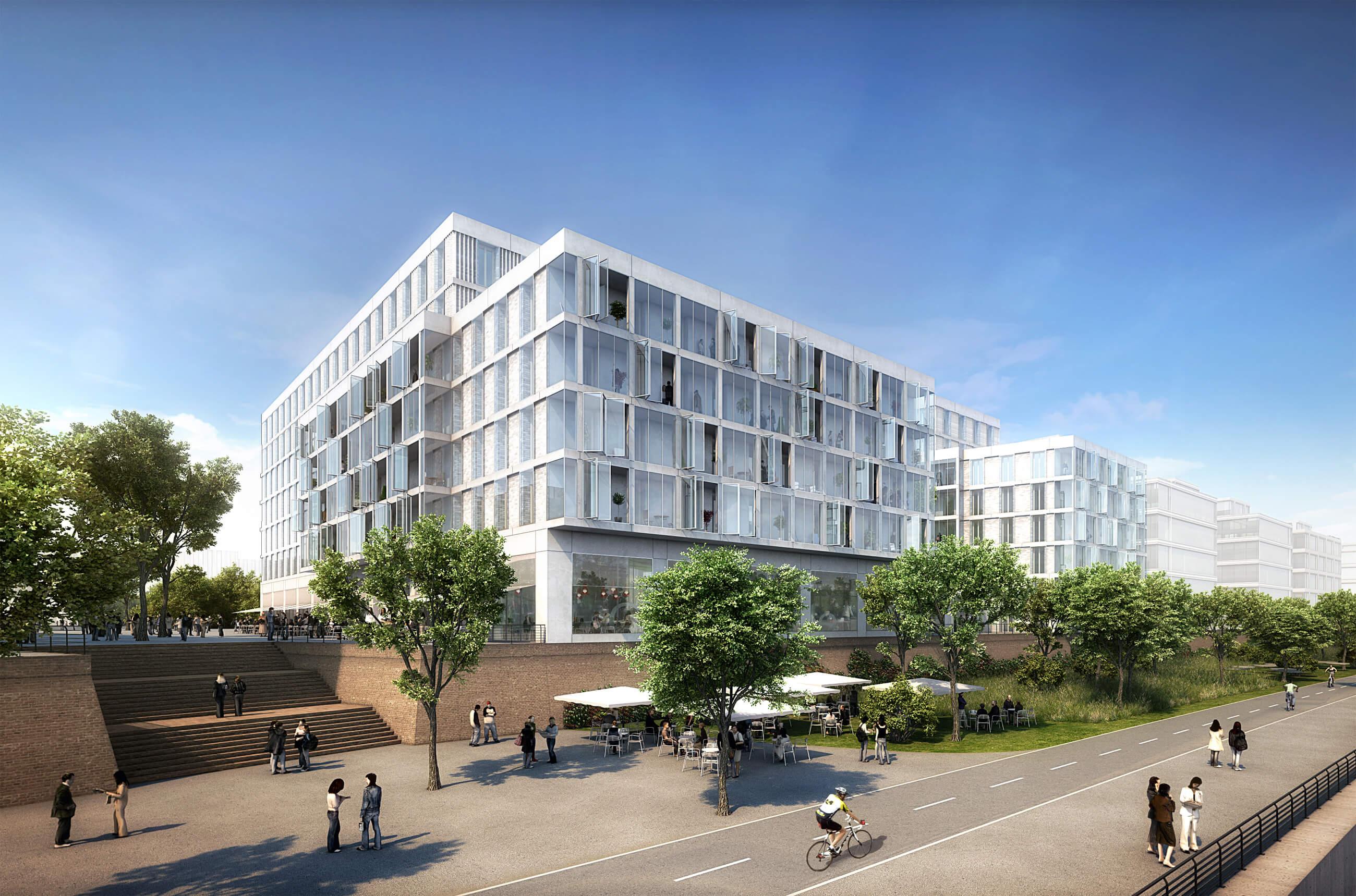 Quartier der Generationen am Baakenhafen, HafenCity Hamburg