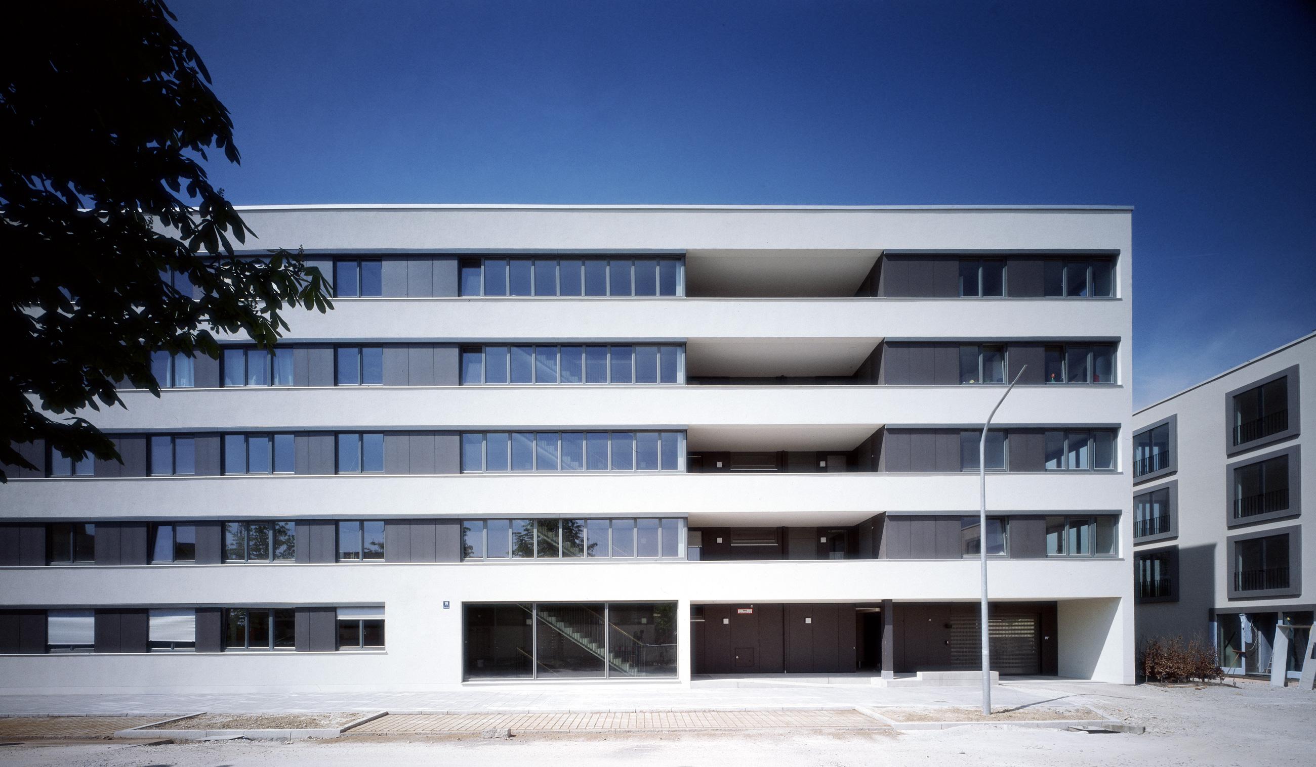 Wohnbebauung Ackermannbogen, München, Gebäude F1
