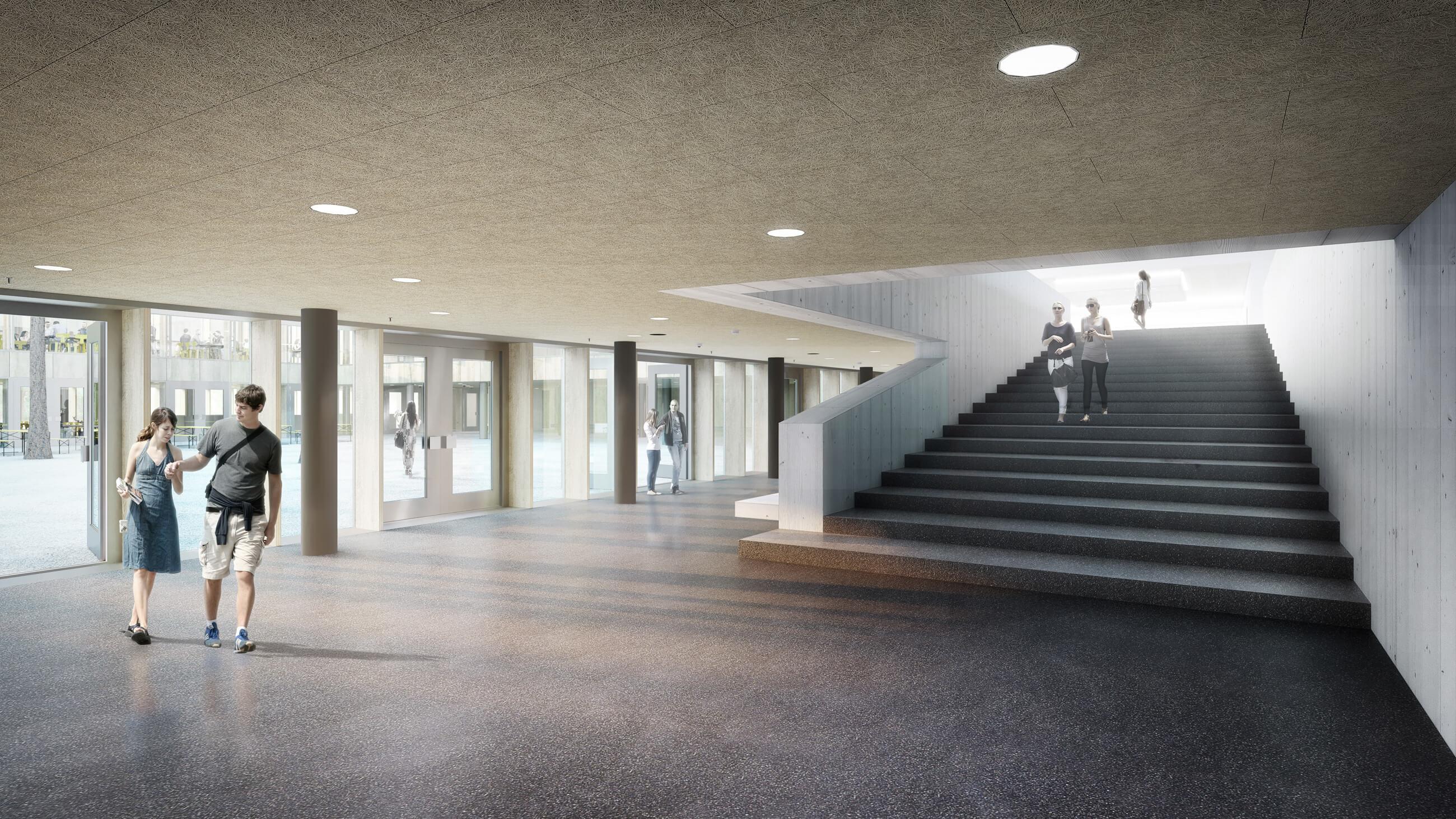 Neue Mensa auf dem Hochschul- und Forschungsgelände Campus Garching