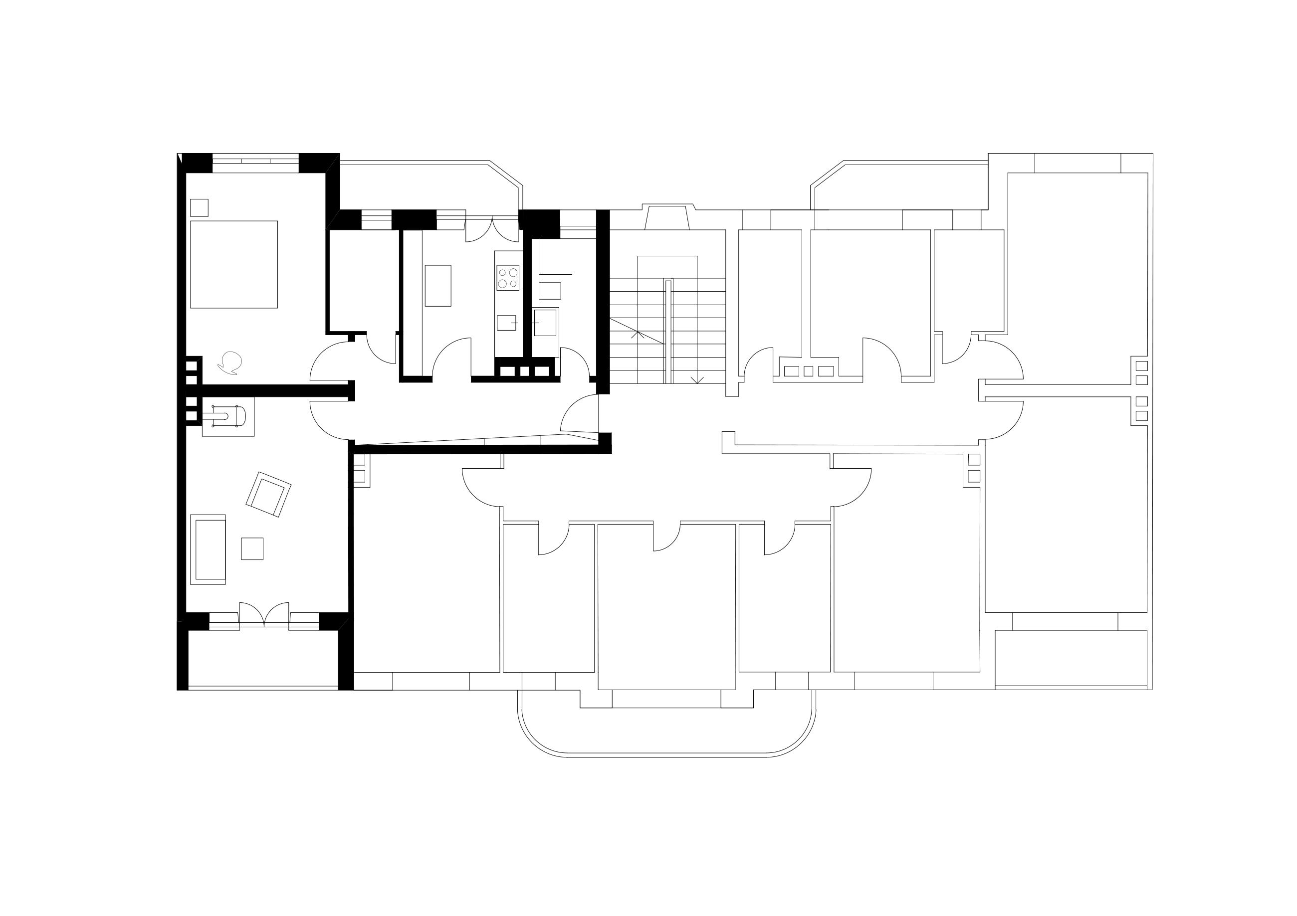 Umbau und Sanierung einer Altbauwohnung, München