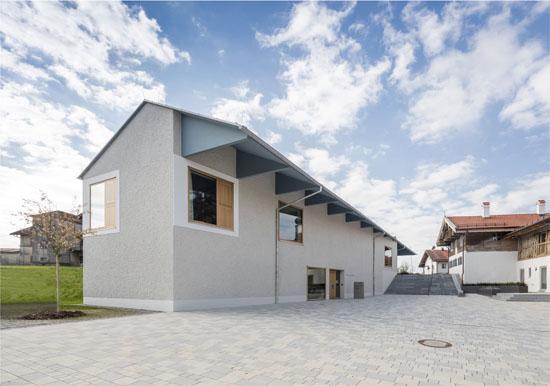 Neubau Rathaus, Maitenbeth