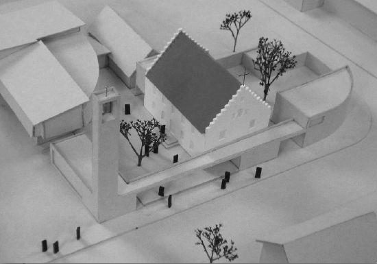 Neubau einer Kirche mit Pfarrhaus, Illertissen