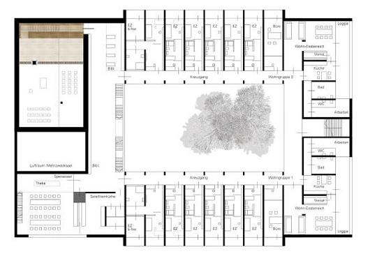 Neubau Generalat der Halleiner Schwestern Franziskanerinnen,  Oberalm-Kahlsperg