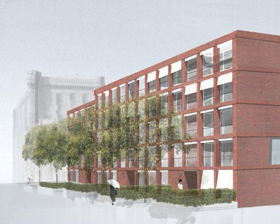 Neubau von drei Wohngebäuden, Stadtwerder, Bremen